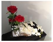 composition florale artificielle a faire soi meme galerie creation. Black Bedroom Furniture Sets. Home Design Ideas